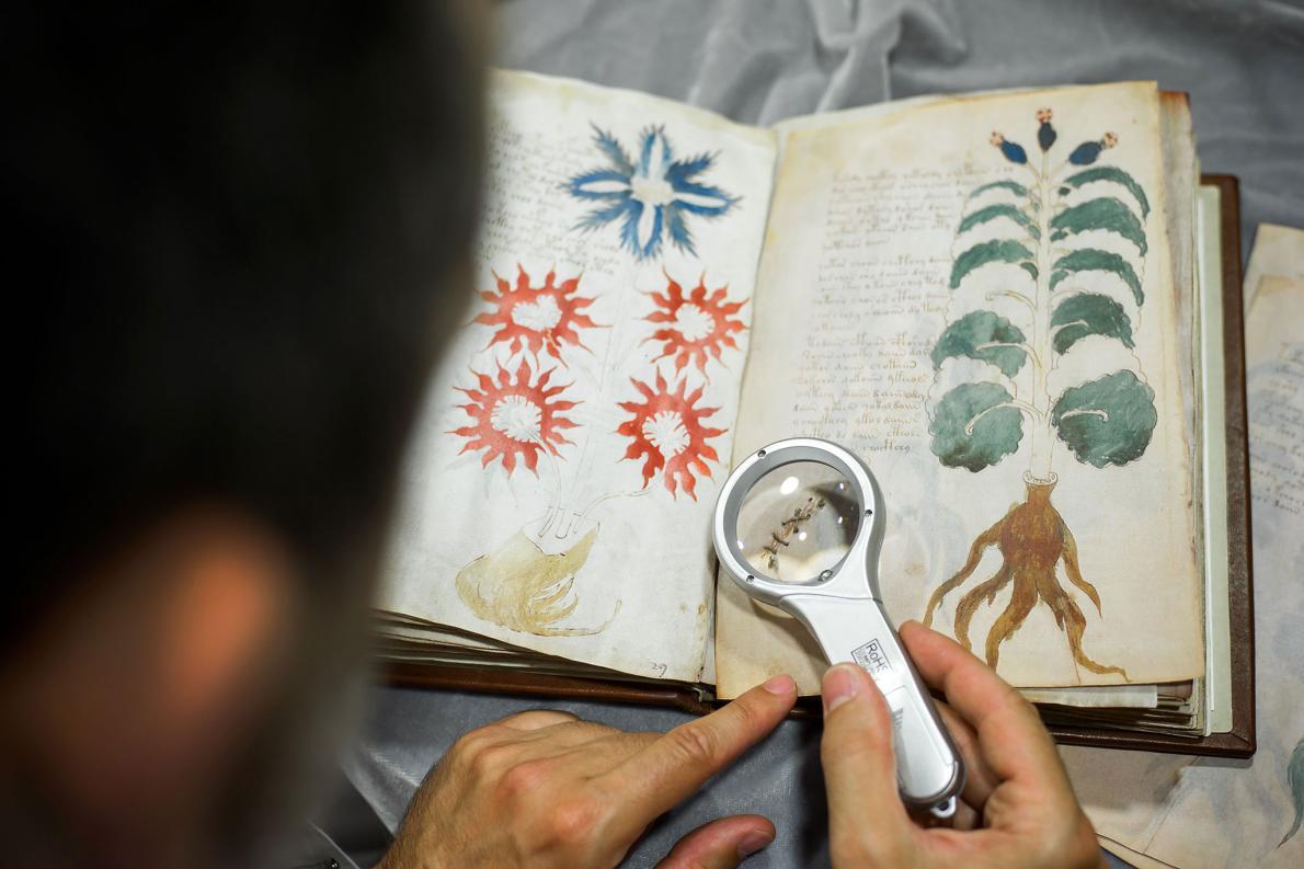 ph thumb - 【考古学】謎のボイニッチ手稿にAI、解読方法が判明?8割がヘブライ語の単語と一致[02/06]
