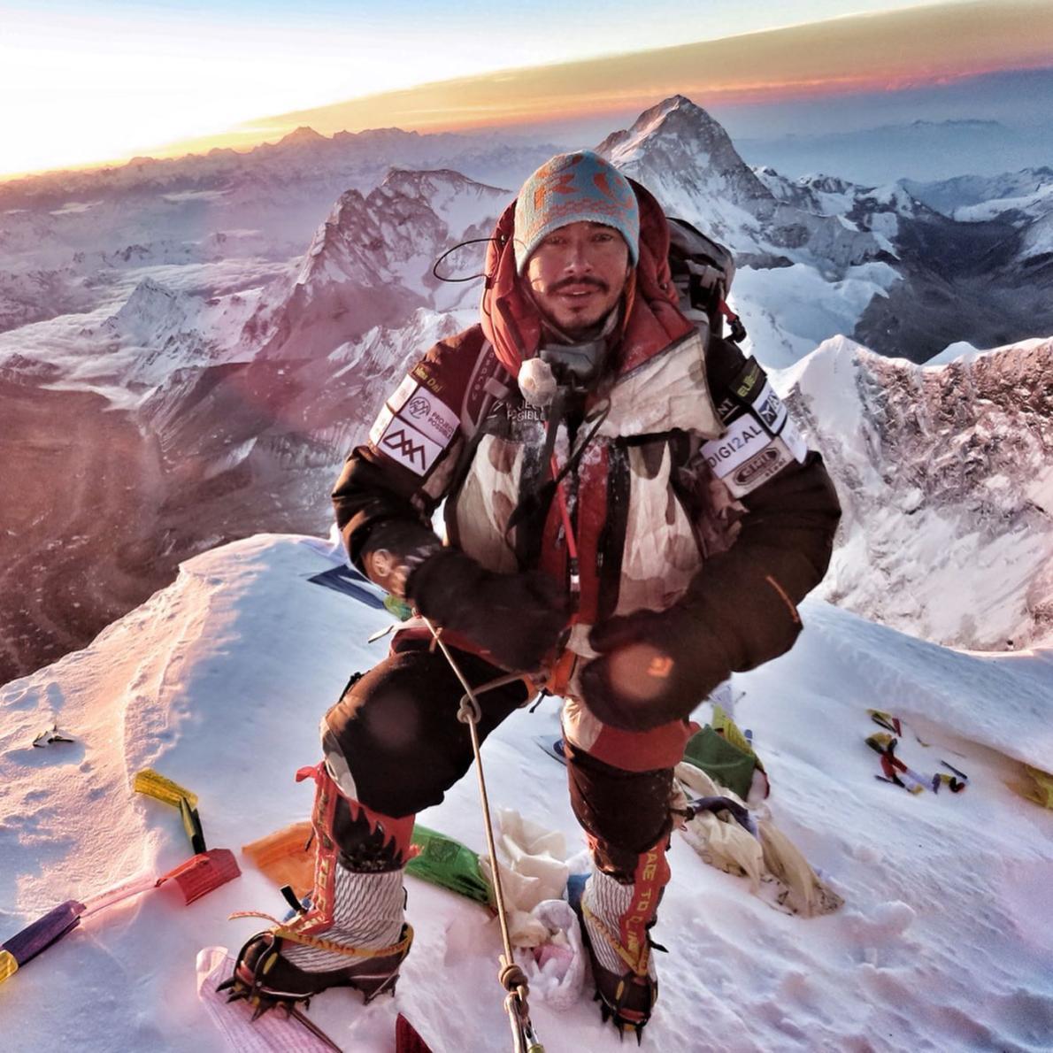 型破り登山家、1カ月で6つの8000m峰に登頂成功   ナショナルジオ ...