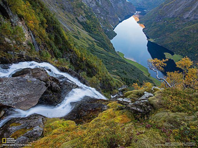世界遺産ネロイフィヨルド(ノルウェー)