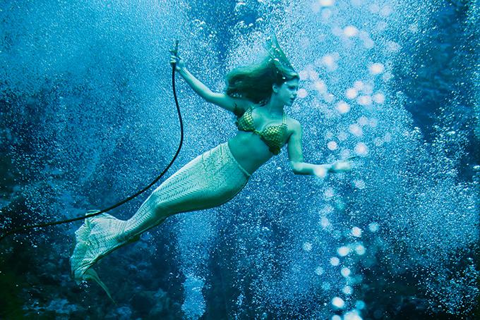 優雅に泳ぐ人魚 | ナショナルジ...