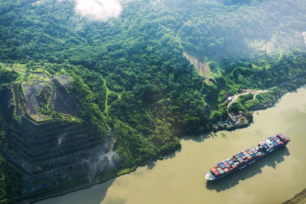 パナマ運河拡張で外来生物リスク2~3倍に | ナショナルジオ ...