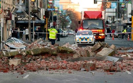 地震 ニュージーランド