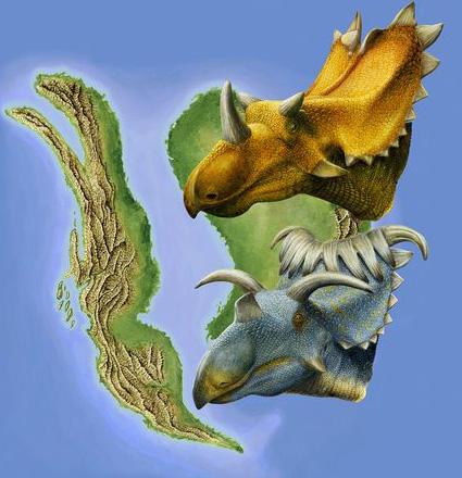 派手な角竜2種を発見、米ユタ州 ...
