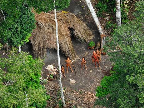 新たな写真が公開、アマゾン孤立部族   ナショナルジオグラフィック ...