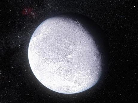 準惑星エリスに凍った大気? | ...