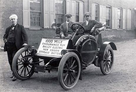 電気自動車とエジソン、車と燃料の歴史 | ナショナルジオグラフィック ...