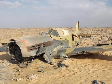 サハラで発見、2次大戦の英軍戦...