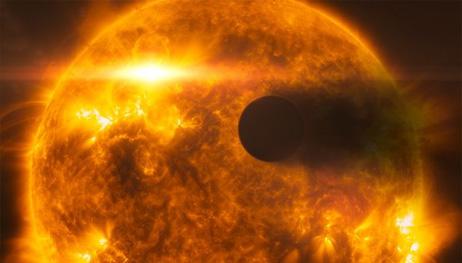 惑星の大気、恒星のフレアで蒸発...