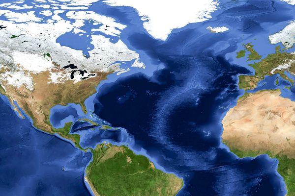 2億年後に大西洋消滅の可能性   ...