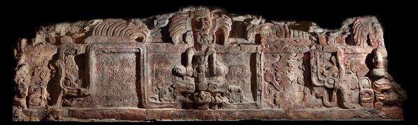 支配者の名前、マヤの巨大彫刻 |...