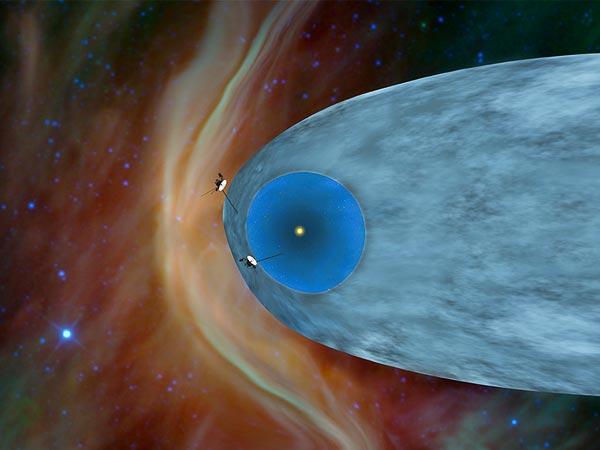 ボイジャー1号の太陽系外到達を...