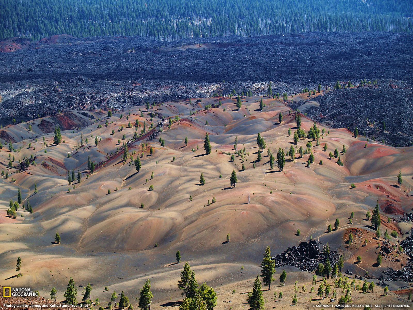 ラッセン火山国立公園 カリフォルニア州 ナショナルジオ