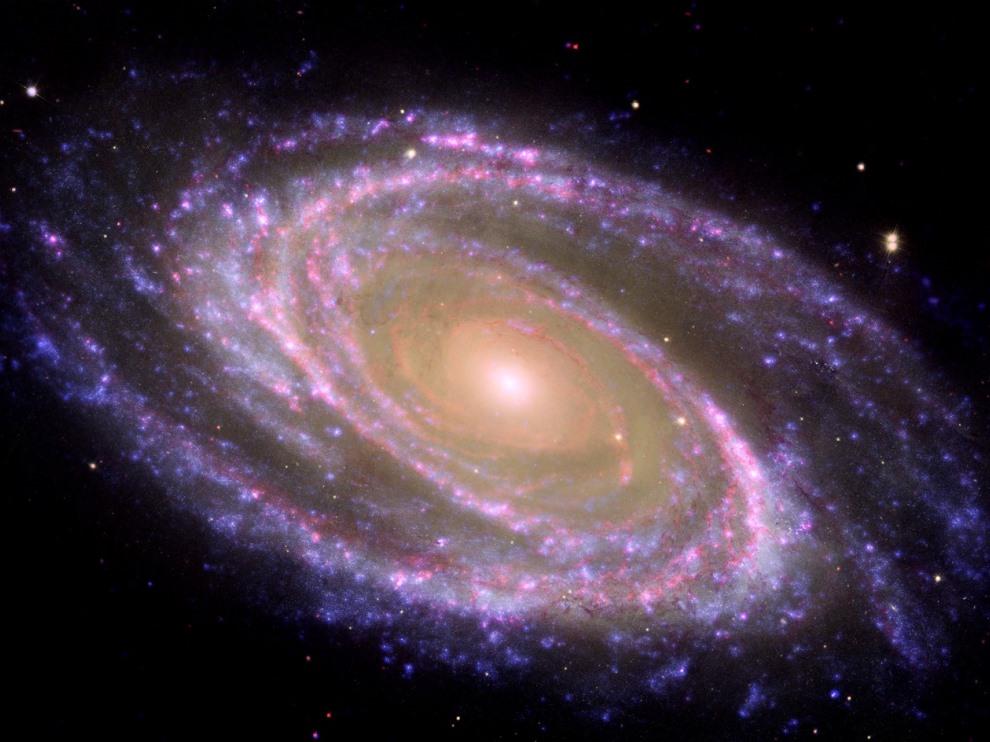 渦巻銀河の「グランドデザイン」...