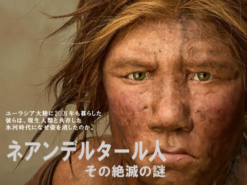 特集:ネアンデルタール人 その絶滅の謎 2008年10月号 ナショナルジオ ...