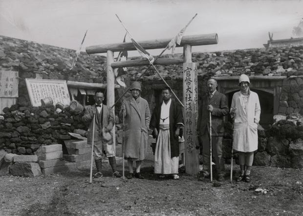 1928年に富士山に登ったナショジオ編集長
